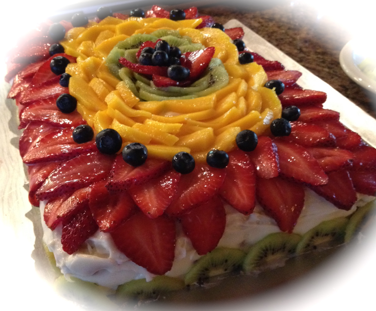 spring fling cake foodie friday fling cake my daily creative 7627
